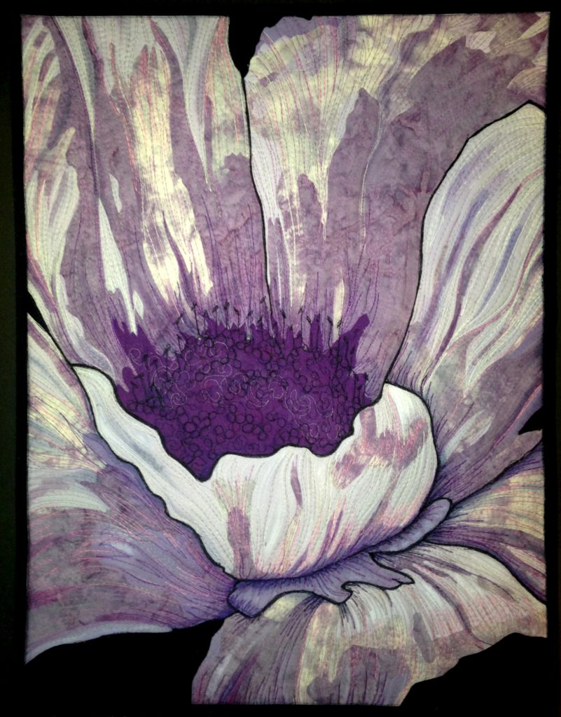 Purple Passion Art Quilt